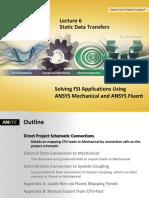 Static Data Transfers