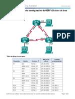8.2.4.5 Lab - Configuring Basic Single-Area OSPFv2 - ILM