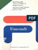 130815527 Foucault M Discurso y Verdad en La Antigua Grecia 1983