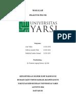 Cover MAKALAH Frakt Pelvis Rad
