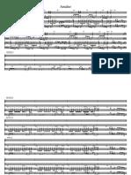Amalur 1-Partitura y Partes