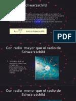 Agujeros Negros Radio de Swars
