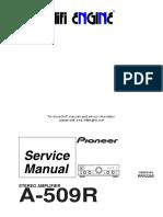 Hfe Pioneer a-509r Service