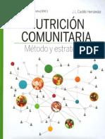 Nutrición Comunitaria Métodos y Estrategias - JL Castillo Hernández
