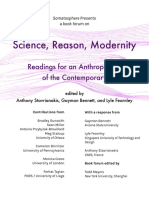 Science Reason Modernity Book Forum