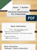 Japan's System