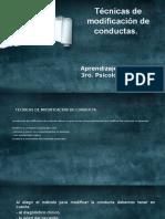 La Psicologia de La Conducta