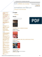 Observations on Film Art _ Friendly Books, Books by Friends