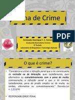 Análises Forenses - Cena de Crime