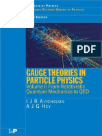 Aitchison I.J.R., Hey a.J.G. - Gauge Theories in Particle Physics. Volume 1. From Relativistic Quantum Mechanics to QED (2002)(en)
