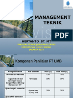 Management Teknik Presentasi