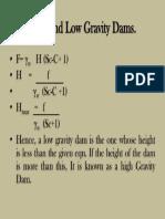 Gravity Dam 75