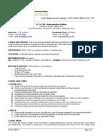 Syllabus for DFTG_2308 Instrumentation CRN_82606 Spring 2012