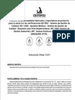 Manual Cristofoli Vitale 12 y 21 Litros
