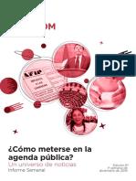 Labcom - Informe Semanal de Agenda Pública - Diciembre 16, Semana 2