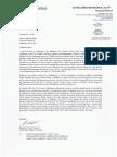 Letter Councilman Scott wrote to Mayor Pugh
