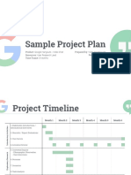 Sample Project Plan