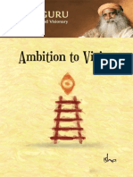 Ambition to Vision