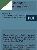 Sifat-sifat Muhammadiyah