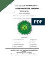 Gerakan Muhammadiyah Dalam Bidang Akhlak Dan Muamalah Duniawiyah Kel.6