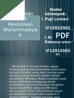 Bentuk Dan Model Pendidikan Muhammadiyah