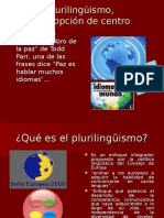 PLURILINGUISMO