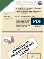Diapositivas Del Yogurt