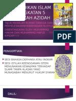 22607700 Nota Pendidikan Islam Tingkatan 4