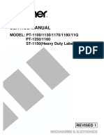 Brother PT-1100, 1130, 1170, 1180, 11q, 1160, 1250, st1150 Service Manual.pdf