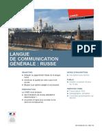Apprendre le russe avec le CNED