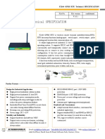 f2164 Gprs Rtu Technical Specification