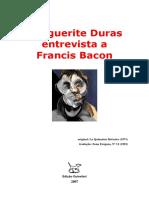 Francis Bacon Entrevista a Marguerite Duras - y Al Reves