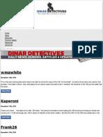 Dinar Detectives | Dinar Recaps, Dinar Guru, Iraqi Dinar Updates and News