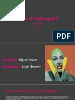 """What if? Metropolis"" Crit Presentation"