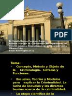 Historia de La Criminología Proyeccion