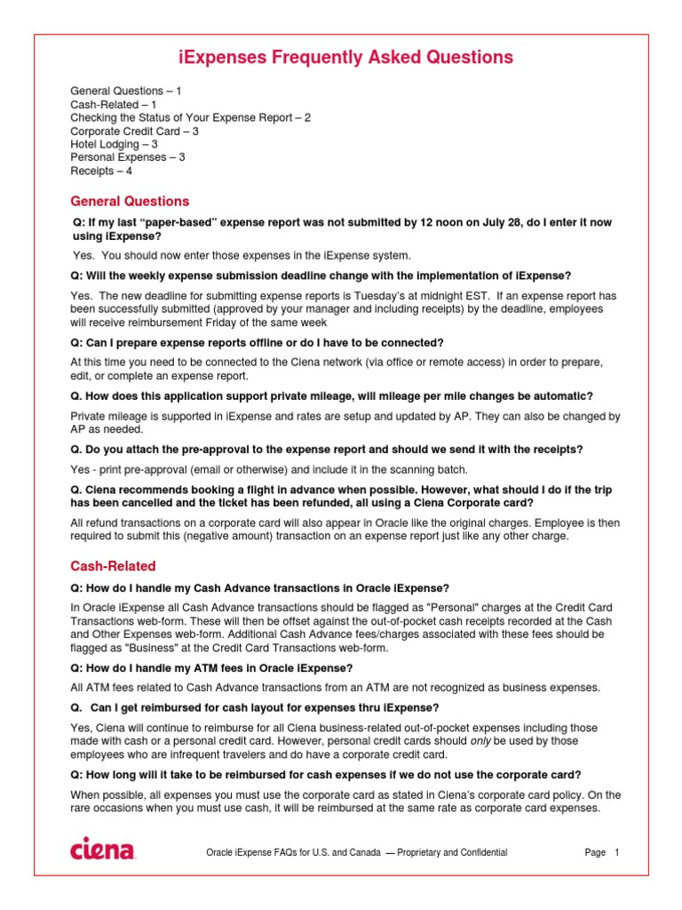 iexpense FAQ   Master Card   Credit Card
