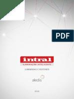 Intral_Catalogo Luminarias-Reatores 2016