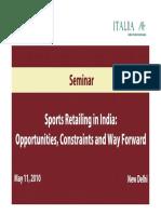 Sports Report Presentation