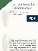 Cita – Cita Pendidikan Muhammadiyah