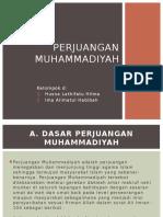 Perjuangan Muhammadiyah