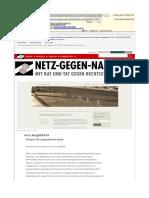 Artikel über Vera Lengsfelds Blog auf www.netz-gegen-nazis.de