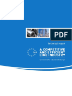 A Competitive and Efficient Lime Industry - Technical Report by Ecofys