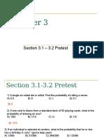 Chapter 3.1-3.2 Pretest