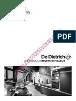 De Dietrich Dcv968w Cuisiniere Notice 68