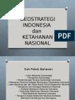 Geostrategi Dan Ketahanan Nasional