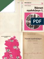 Nemet Nyelvkonyv I - Sanyi Gyula
