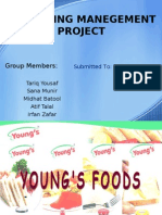 marketing strategy for failed product of Young's Food(ketchup)