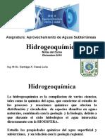 hidrogeoquímica