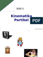 Bab 2 Kinematika Partikel