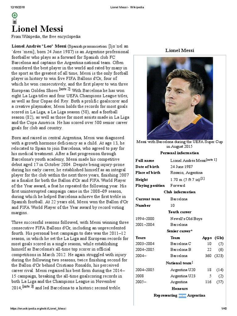 d88b8b3d8a0 Lionel Messi